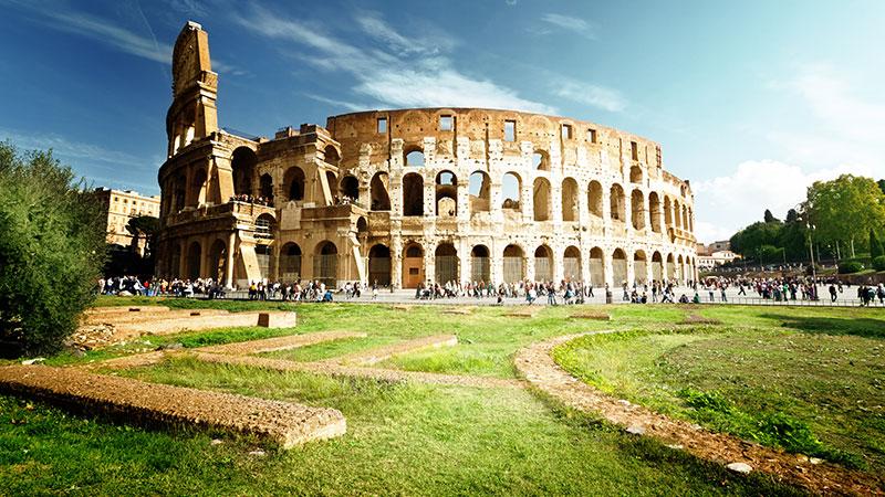 kjent bygning i roma