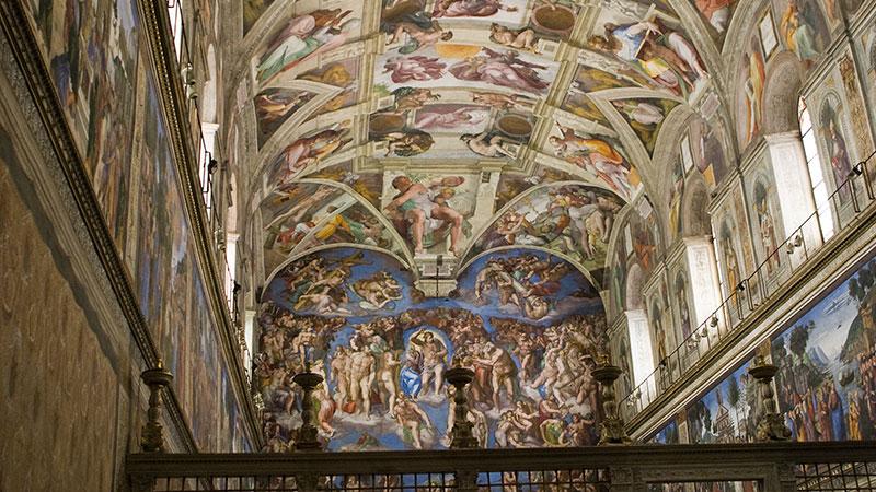 Michelangelo sixtinske kapell